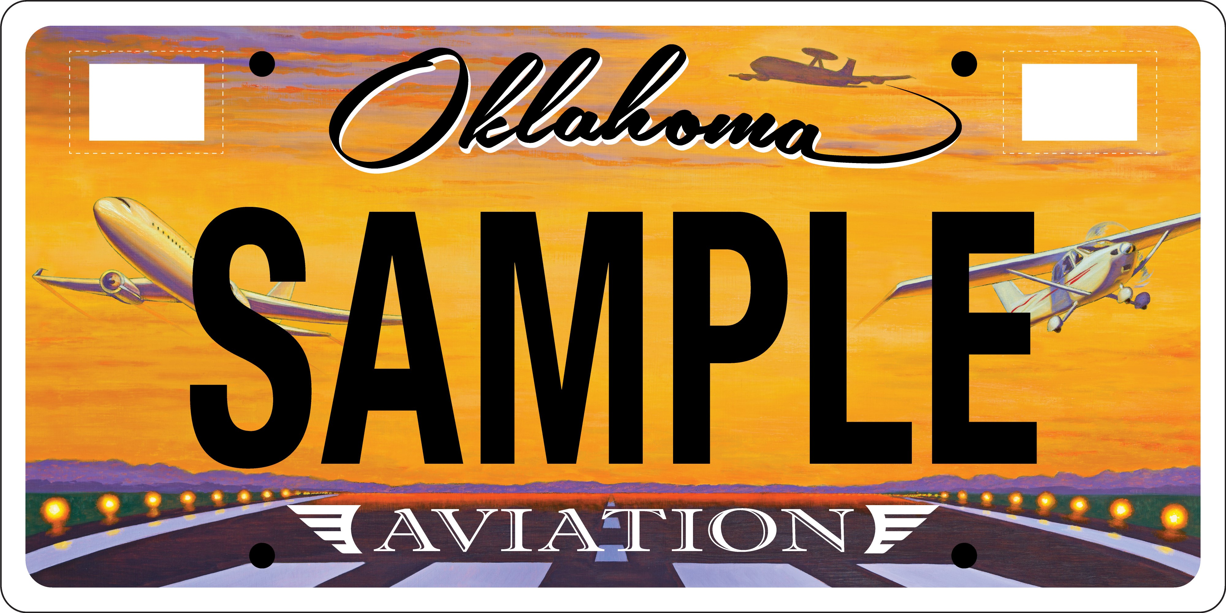 New State Aviation License Plate Unveiled During AOPA Regional Fly ...